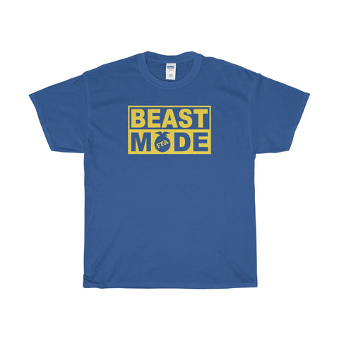 T-Shirt - Beast Mode Cotton T-shirt By Gildan