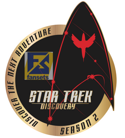 Episode Pins for Season 2 of Discovery