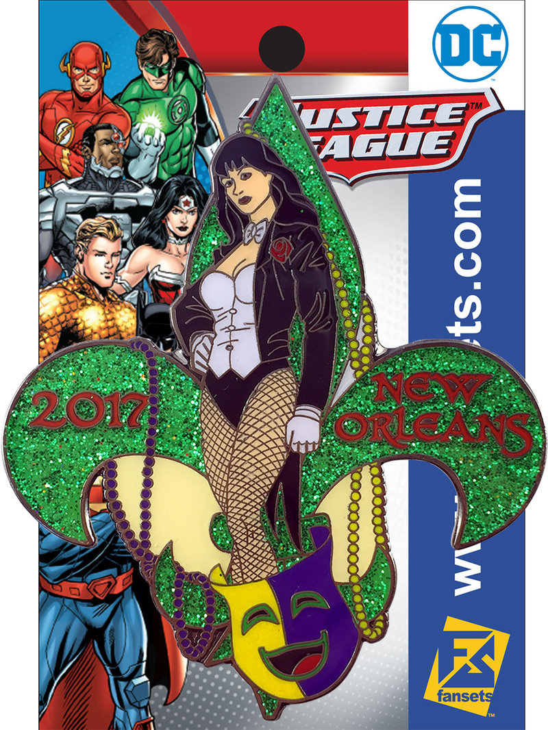 DC Comics Show Exclusive Zatana Licensed FanSets Pin
