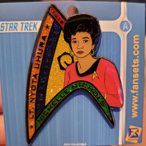 STLV 2019 Exclusive Uhura Women of Trek Pin- PRE-ORDER *See Description*