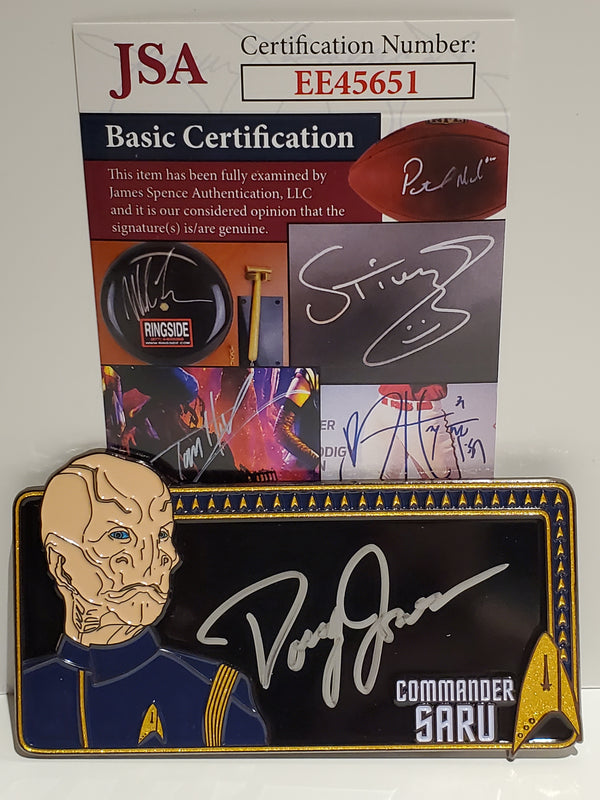 Star Trek Autograph Pin: Doug Jones