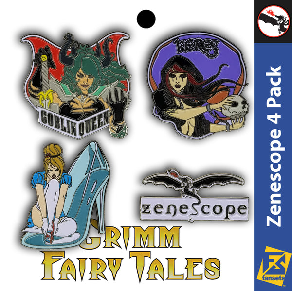 Zenescope Grimm Fairy Tales Villains 4 Pack