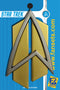 Star Trek: The Next Generation ALL GOOD THINGS  Full Size DELTA PIN Licensed FanSets Pin