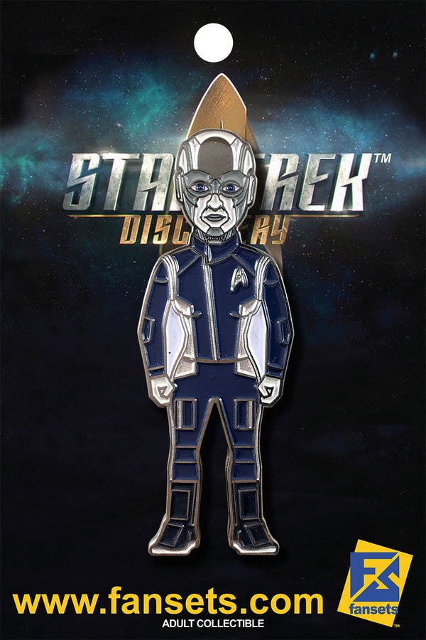 Star Trek Discovery Lt. Commander AIRIAM Licensed FanSets MicroCrew Collector's Pin