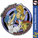 Zenescope ALICE LIDDLE in Beyond Wonderland Licensed FanSets Exclusive Pin