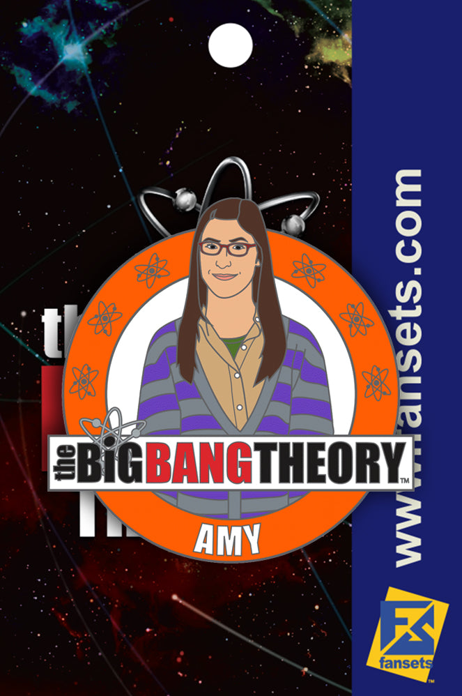 Big Bang Theory Amy Licensed FanSets Pin
