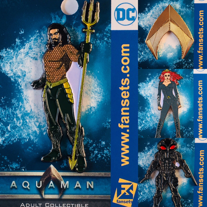 DC Comics AQUAMAN MOVIE MERA Licensed FanSets Pin MicroJustice