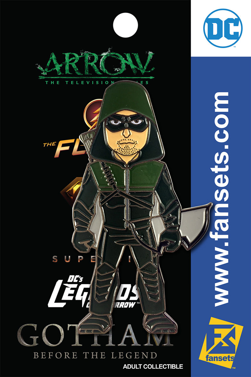 DC Comics DCTV ARROW Licensed FanSets Pin