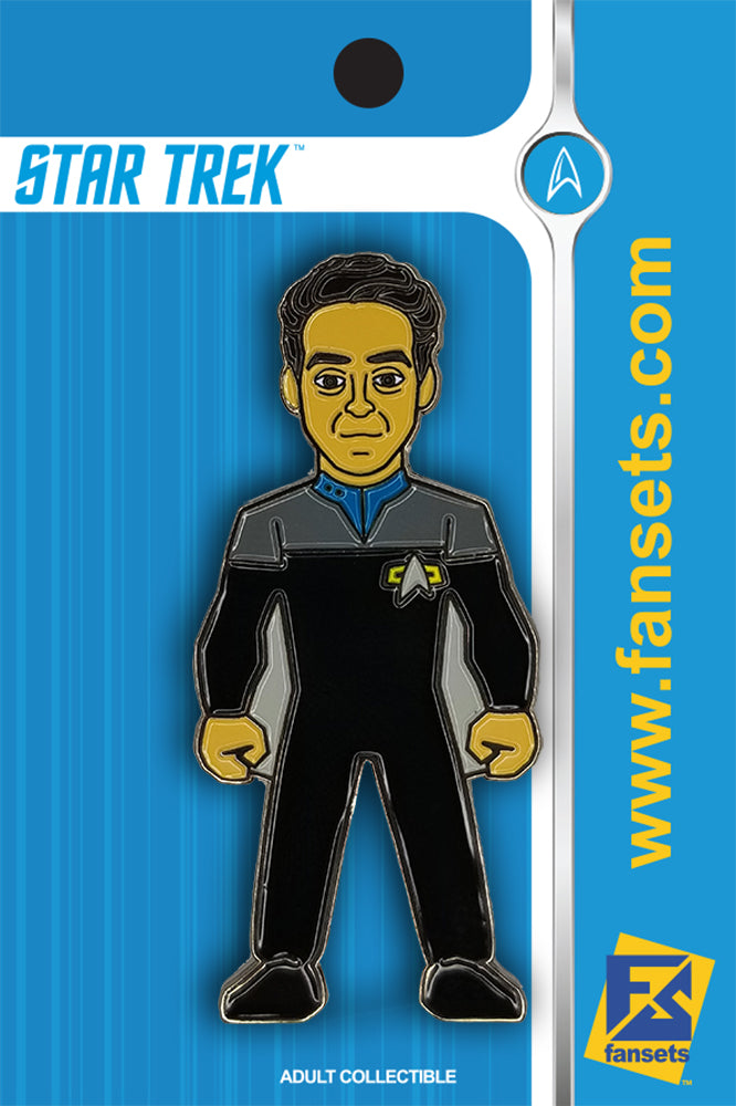 Star Trek Dr. Julian BASHIR Licensed FanSets MicroCrew Collector's Pin