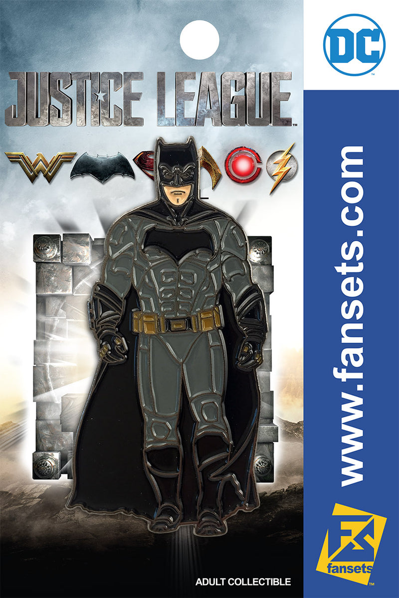 Justice League Movie Batman SG FanSets Pin