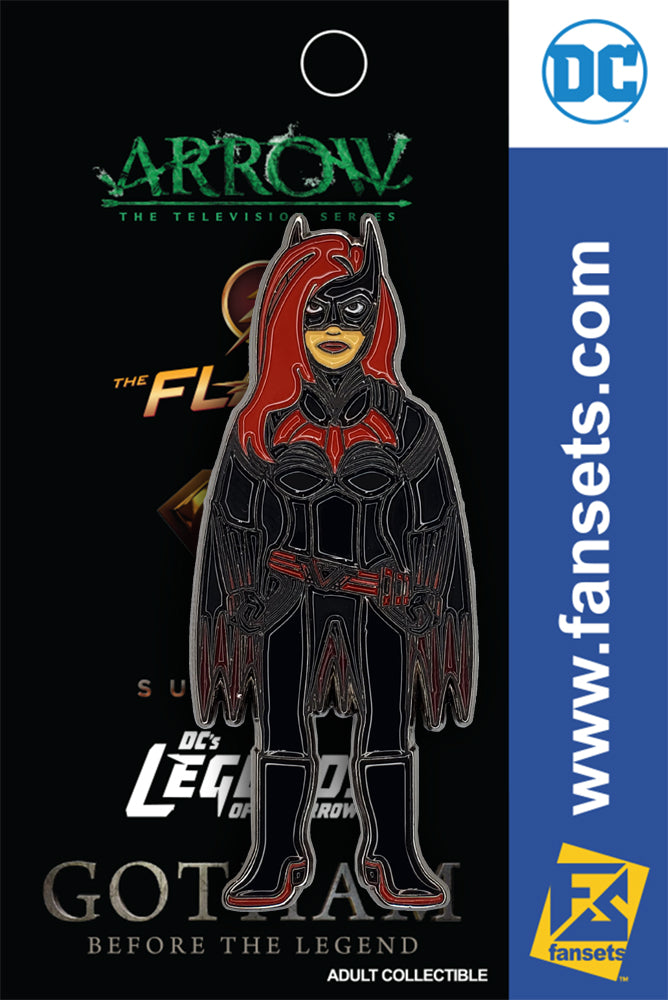 DC Comics Batwoman Licensed Fansets Pin
