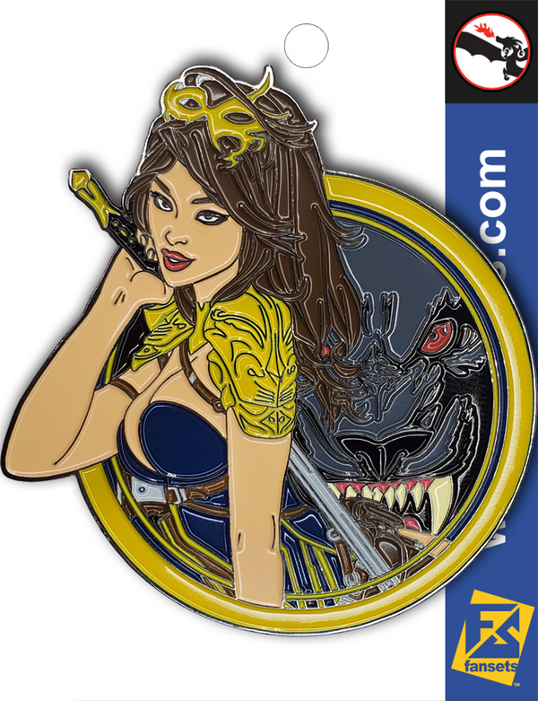 Zenescope BELLE Licensed FanSets Pin