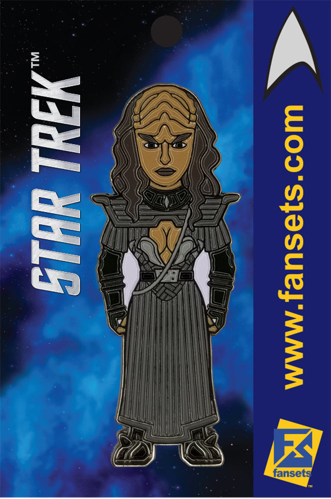 Star Trek KLINGON B'ETOR Licensed FanSets MicroCrew Collector's Pin