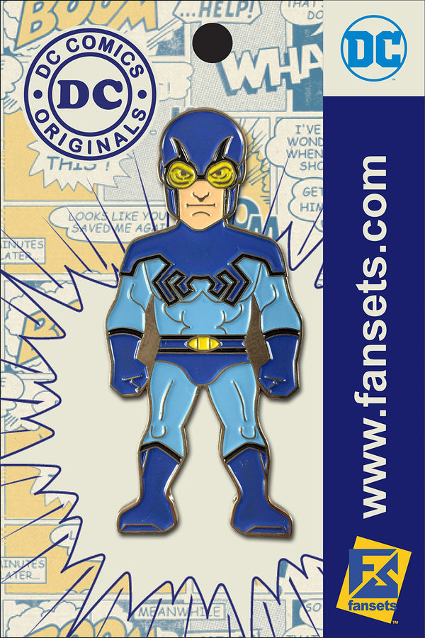 DC Comics Classic BLUE BEETLE Licensed FanSets Pin MicroJustice