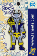 DC Comics Classic BLUE DEVIL Licensed FanSets Pin MicroJustice