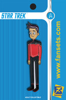 Star Trek Lower Decks BRAD BOIMLER Licensed FanSets MicroCrew Collector's Pin