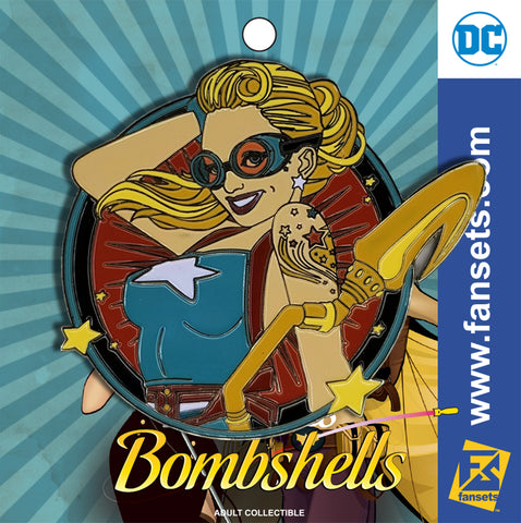 DC Comics DC Bombshells Badge STARGIRL Licensed FanSets Pin MicroChracters