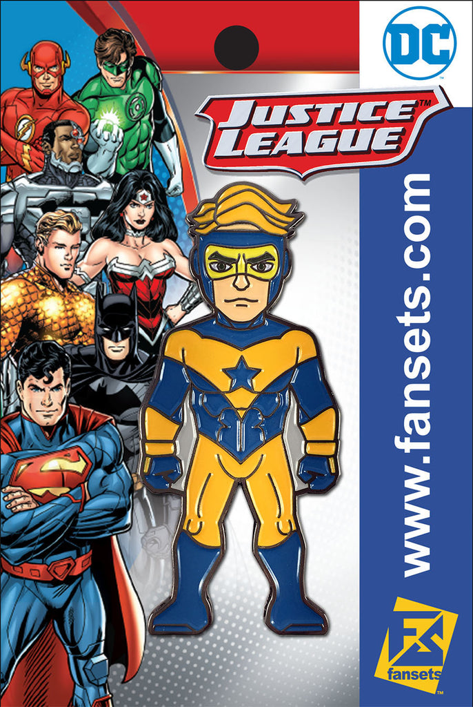 DC Comics Justice League BOOSTER GOLD (New 52) Licensed FanSets Pin MicroJustice