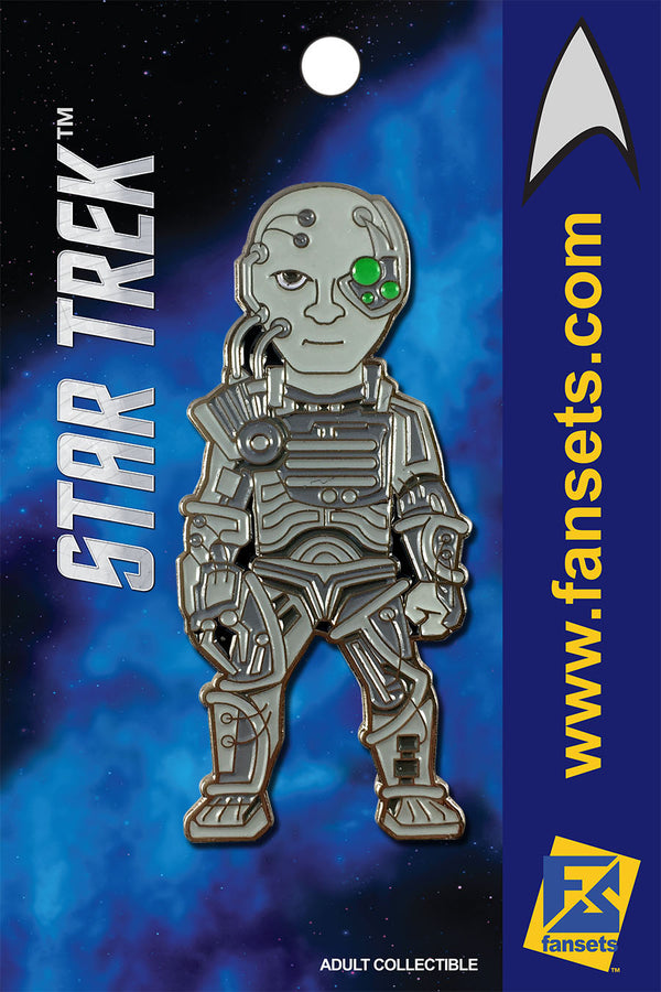 Star Trek BORG Licensed FanSets MicroCrew Collector's Pin