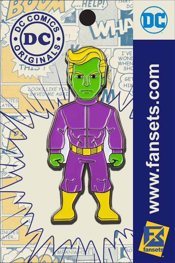 DC Comics Classic BRAINIAC 5 Legion of Super Heroes Licensed FanSets Pin MicroJustice