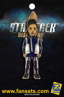 Star Trek Discovery UNRANKED Michael BURNHAM Licensed FanSets MicroCrew Collector's Pin