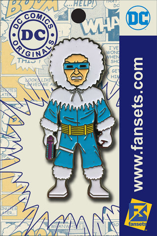 DC Comics Classic CAPTAIN COLD Licensed FanSets Pin MicroJustice