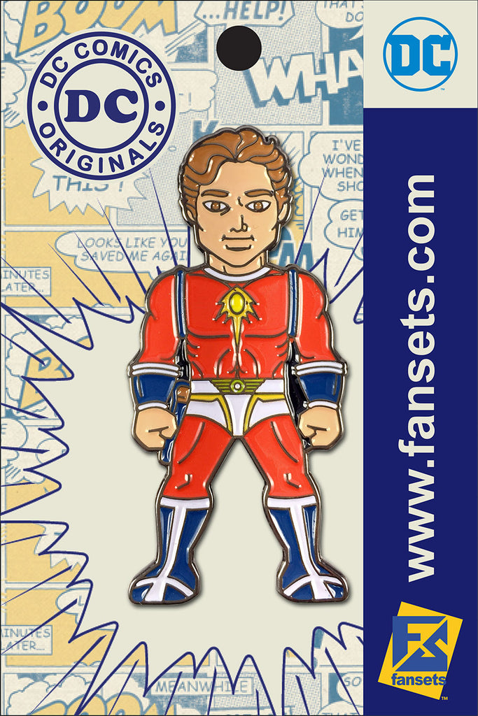 DC Comics Classic CAPTAIN COMET (WEB EXCLUSIVE) Licensed FanSets Pin MicroJustice