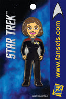 Star Trek Captain Janeway Licensed FanSets Pin