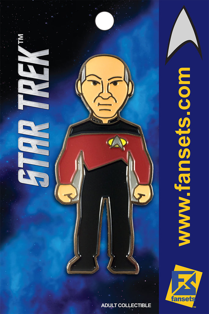 Star Trek CAPTAIN PICARD Licensed FanSets Collector's Pin