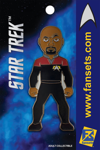 Star Trek Captain Sisko Licensed FanSets Pin