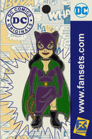 DC Comics Classic CATWOMAN Licensed FanSets Pin MicroChracters
