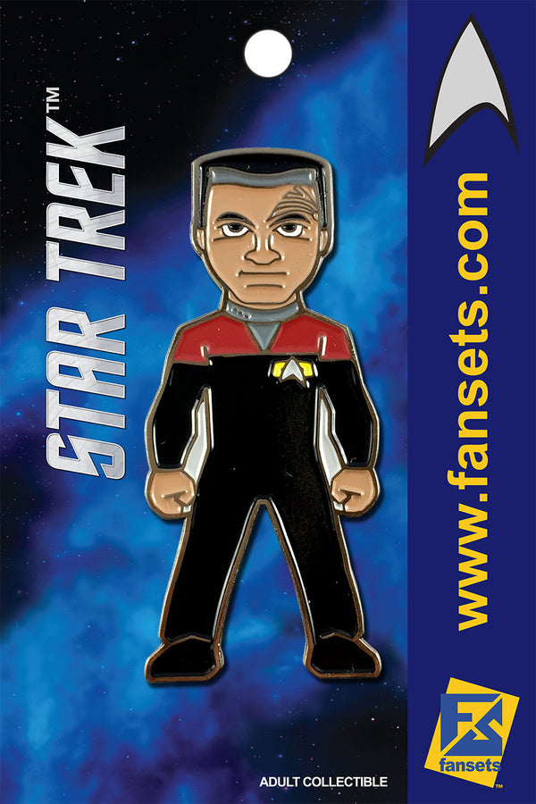 Star Trek CHAKOTAY Licensed FanSets Collector's Pin