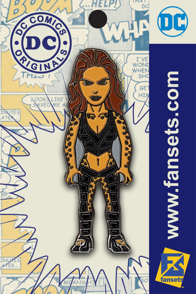 DC Comics Classic Cheetah Licensed FanSets Pin