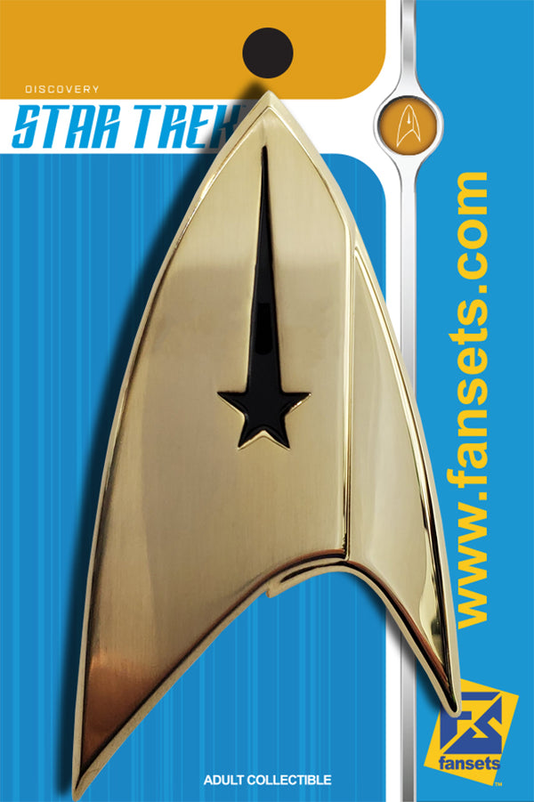 Star Trek: DISCOVERY COMMAND DELTA FULL SIZE Licensed FanSets Pin