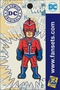 DC Comics Classic COMMANDER STEEL Licensed FanSets Pin MicroChracters