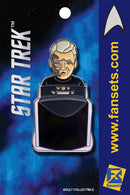 Star Trek CAPTAIN PIKE (Menagerie) Licensed FanSets MicroCrew Collector's Pin