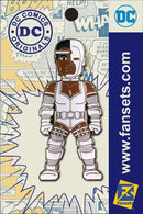 DC Comics Classic CYBORG Licensed FanSets Pin MicroJustice