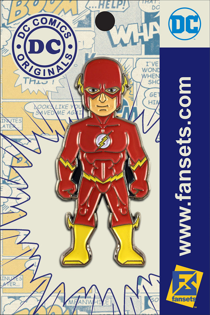 DC Comics Classic FLASH Wall West Licensed FanSets Pin MicroJustice