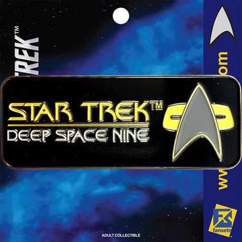 Star Trek SERIES DEEP SPACE 9 Licensed FanSets Logo Collector's Pin
