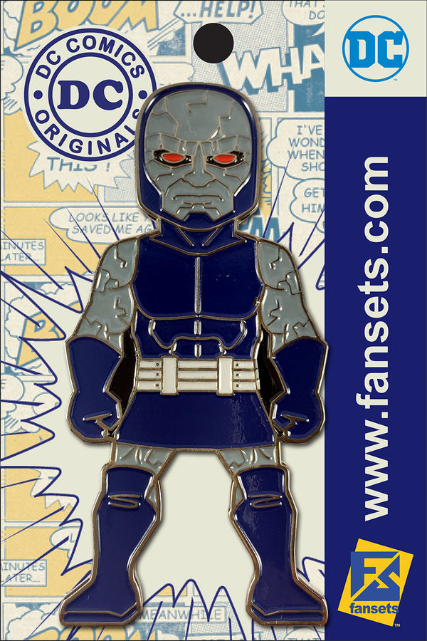 DC Comics Classic DARKSEID Licensed FanSets Pin MicroJustice