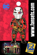 DC Comics Suicide Squad DEADSHOT Licensed MicroMovie Collectors Pin