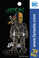 DC Comics DCTV DEATHSTROKE Licensed FanSets Pin