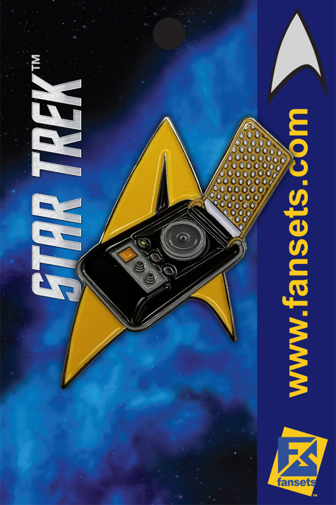 Star Trek: TrekTech Delta Communicator Licensed FanSets Pin