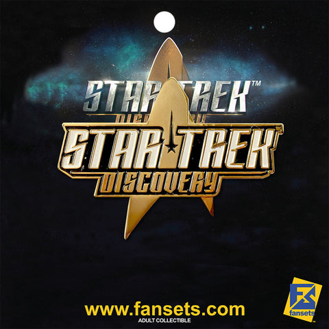 Star Trek: Discovery Logo Licensed FanSets Pin
