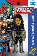 DC Comics Teen Titans Classic DONNA Troy Licensed FanSets Pin MicroJustice