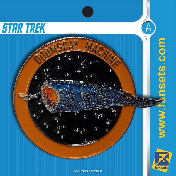 Star Trek DOOMSDAY MACHINE MicroFleet Licensed FanSets Pin