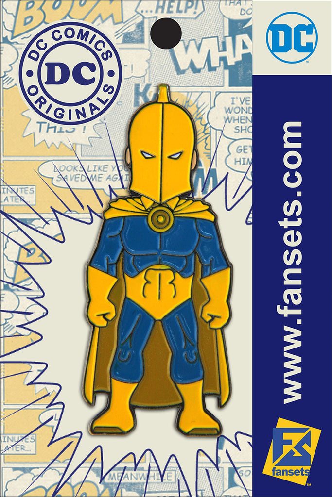 DC Comics Classic Dr. FATE Licensed FanSets Pin MicroJustice