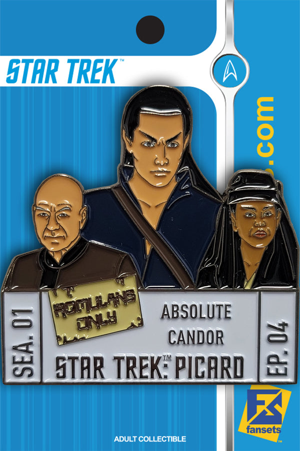Star Trek: Picard Episode Pins Season One EPISODE FOUR Licensed FanSets Pin