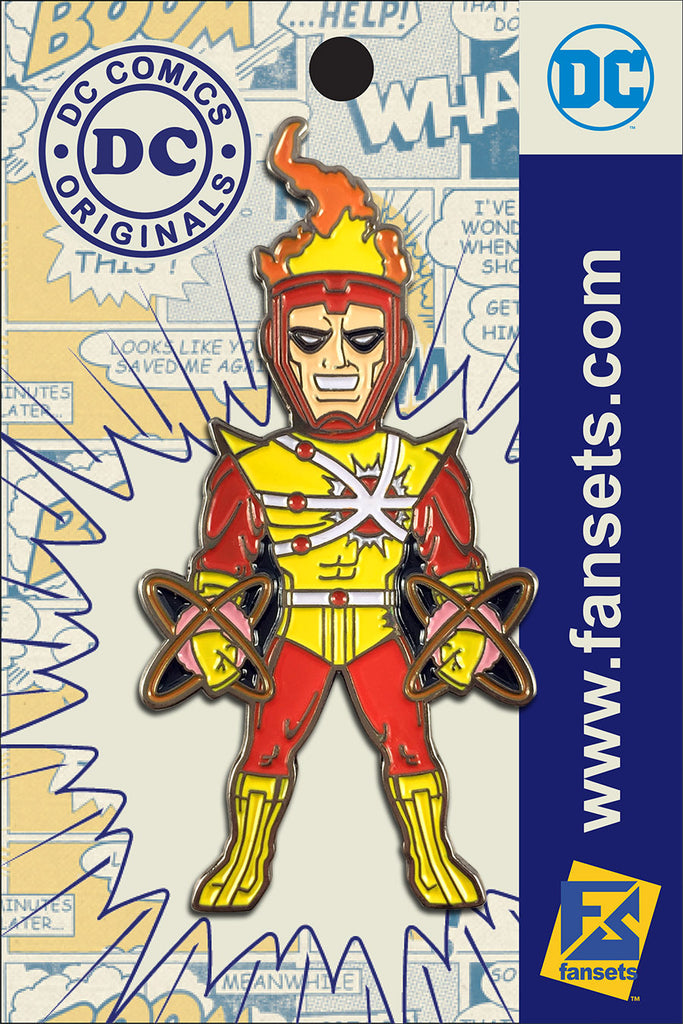 DC Comics Classic FIRESTORM Licensed FanSets Pin MicroJustice