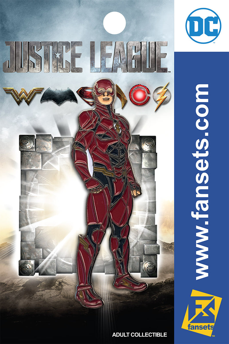 Justice League Movie Flash SG FanSets Pin